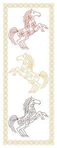 Celtic Horse Bookmark