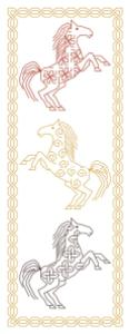 Celtic Horse Bookmark
