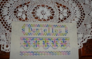 SAL Dentelles with doily