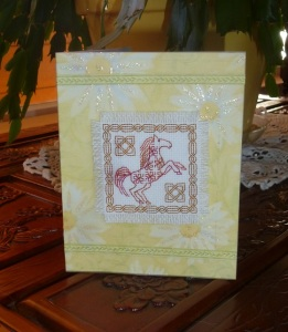 Celtic Horse Card 3