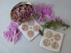 Rose petals and Lavender