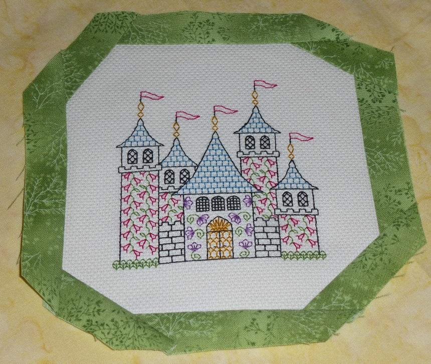 bordered castle